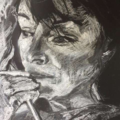 Corrina Dunlea drawing and portraiture art classes