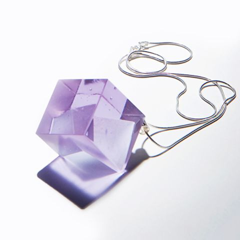 Heike Brachlow glass pendant