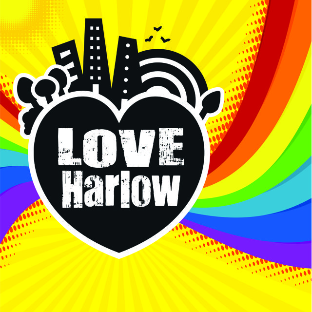 Blue pig Love Harlow graphic design
